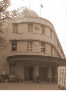 母校の校舎-甲南高校