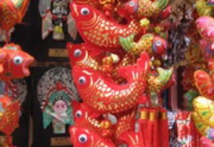 上海でのお正月休暇終了
